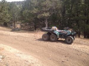 6X6 at Upper Ketner Springs, Oregon.